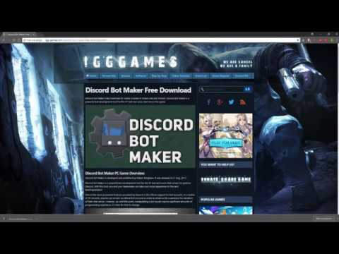 Discord bot maker free download !!!!