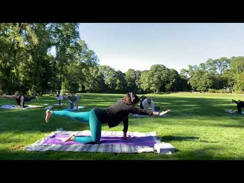Power Yoga (60 minutes) Outdoors with Amy and Deba, Victory Field, Mystic Fitness, Sat, Sept 5, 2020