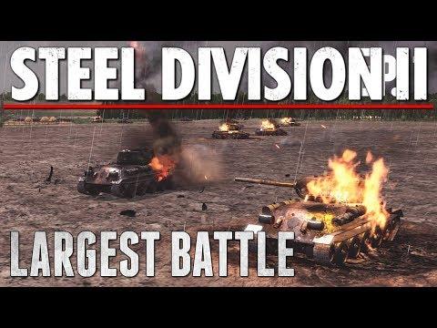 LARGEST BATTLE YET - Steel Division 2 - Multiplayer Gameplay [4v4 - Lyakhavichi]