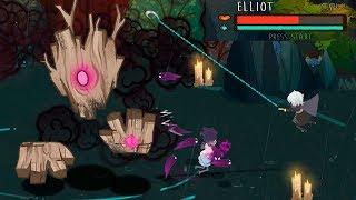 Обзор игры No Mercy демо версия! эпичные боссы! игра нарисованная красками!