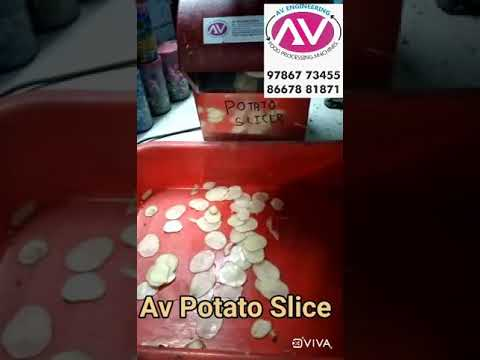 Potato Chips Making Machine For Commercial