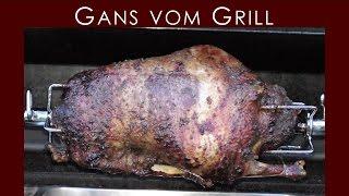 Gans vom Grill - Broil King Regal 590   BBQ & Grill   Deutsches Rezept   092  