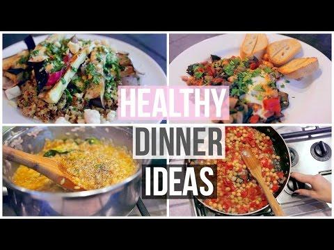 Video 3 Easy & Healthy Dinner Ideas!
