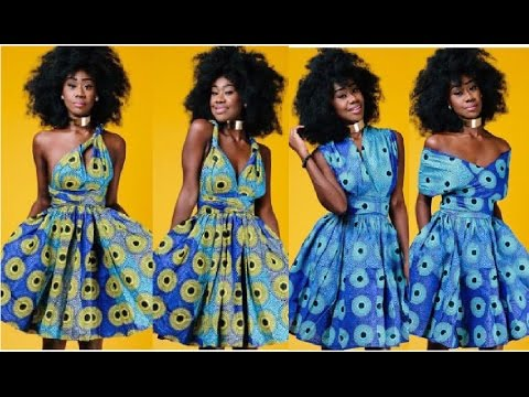 How To Make A Ankara Infinity Wrap Dress I Special Announcement I  Sewing for beginners