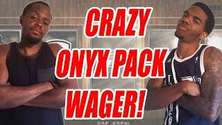 CRAZY ONYX PACK OPENING WAGER!! - NBA 2K15 MyTEAM Pack Opening | MyTEAM Onyx Packs