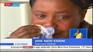 Sad story of 29-year old Salome Kanini burnt in her house by her husband