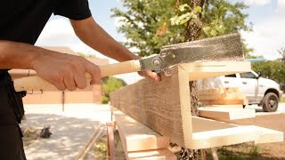 Faux Wood Beams Install...