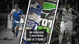 RGV Barracudas vs El Paso Coyotes