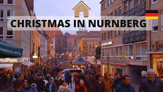 Christmas In Nuremberg 2019 - Travel Germany [4K]