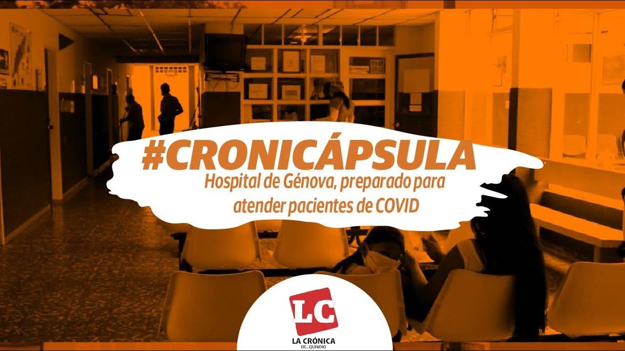 Hospital de Génova, preparado para pacientes de COVID