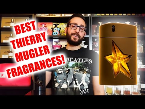 Top 5 Best Thierry Mugler Fragrances / Colognes!