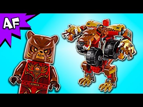 Vidéo LEGO Chima 70225 : L'Ours de Bladvic