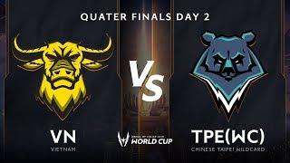 Việt Nam vs TPE Wildcard - Vòng Tứ kết - AWC 2019 - Garena Liên Quân Mobile