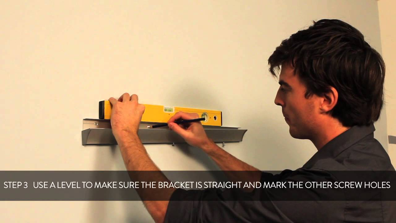 HOW TO: fixing a Duraline rail to your wall
