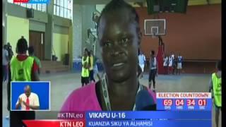 Timu ya taifa ya Vikapu U-16 yazidi kupamba mazoezi yake Mombasa