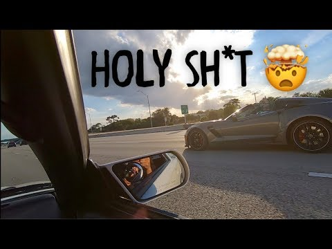 Corvette encounters 1489WHP Supra