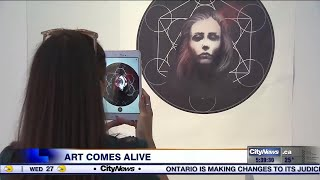 "(Video) ""Art Comes Alive With AR"""