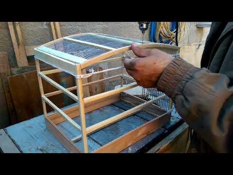 Haciendo una jaula de madera
