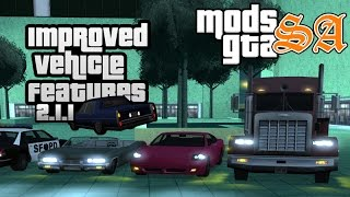 GTA SA - ImVehFt - Improved Vehicle Features 2.1.1