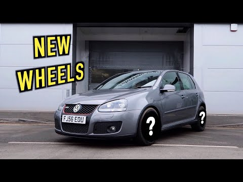 NEW WHEELS for the High Mileage GOLF GTI!