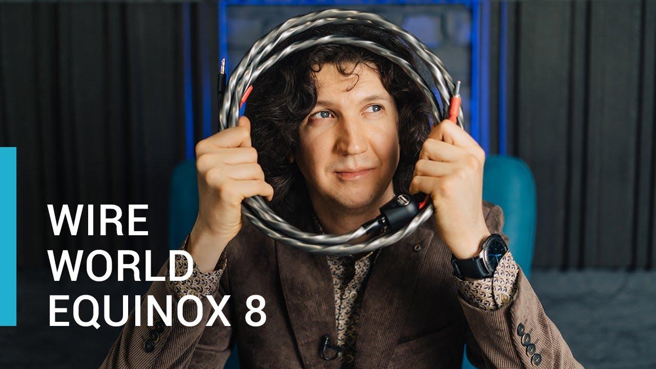 WireWorld Equinox 8 Распаковка и краткий обзор кабеля!