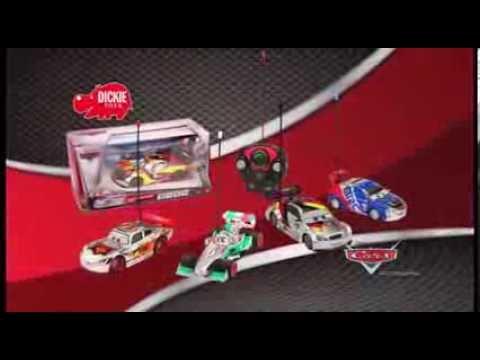 Dickie Zabawka Zdalnie Sterowana Auta Cars 2 Wersja Srebrna | zabawkiTV