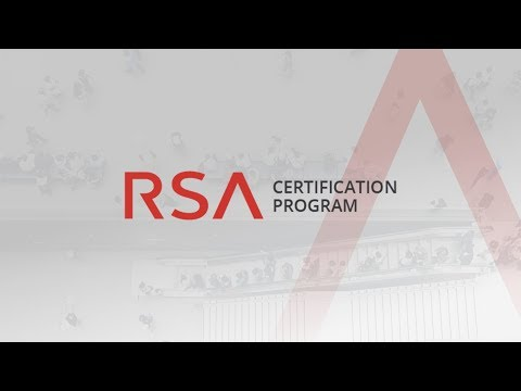 RSA Certification Program - YouTube