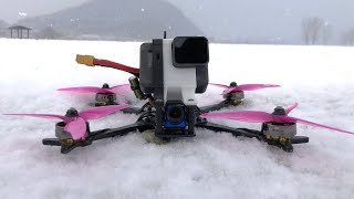 Snowny Day With FPV Drone
