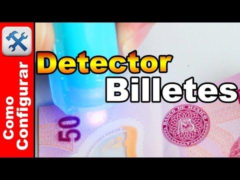 Detector De Billetes Falsos Portatil de Bolsillo - Comoconfigurar