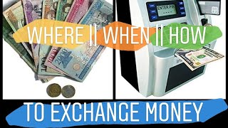 Exchange Money || How, When, Where In The Dominican Republic and Sosua