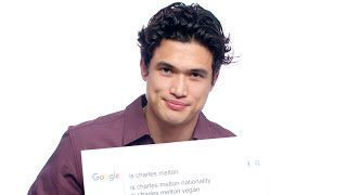 Charles Melton Answers the Web's Most Searched Questions | WIRED