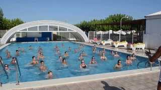 preview picture of video 'AQUAGYM Camping Torre La Sal'2'