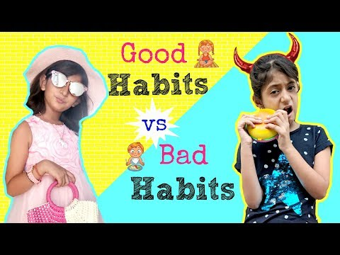 Good Habits Vs Bad Habits | #ShrutiArjunAnand #Sketch #Fun #MyMissAnand