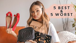 MY 5 WORST AND 5 BEST DESIGNER PURCHASES (Chanel, Louis Vuitton, Christian Louboutin) | Victoria Hui