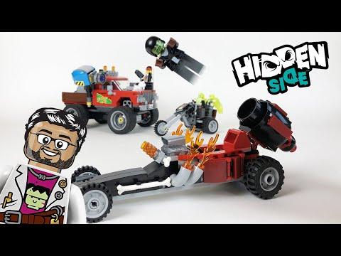 Vidéo LEGO Hidden Side 40408 : Drag Racer