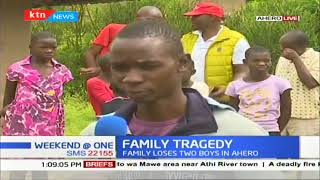 Kisumu family suffers double tragedy as son killed, another critically injured