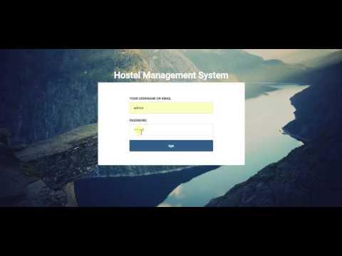 Système de gestion de l'auberge en php avec code source
