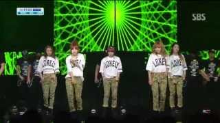 포미닛 (4minute) [WHATEVER] @SBS Inkigayo 인기가요 20130428
