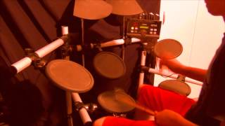Dragon Force-A Flame For Freedom (Drum Cover)