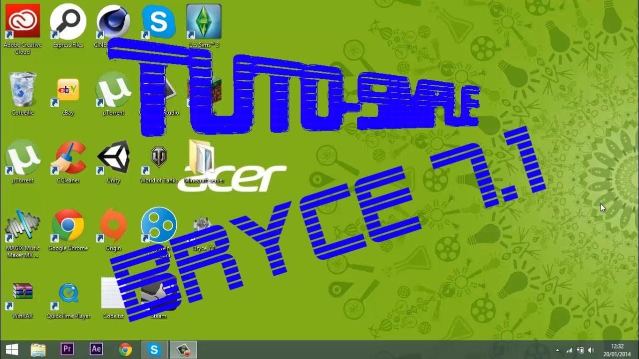 Tuto-simple - Bryce 7.1