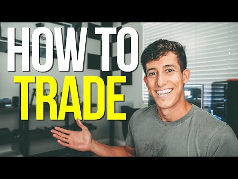 HOW TO TRADE FOR BEGINNERS   STOCK MARKET 101