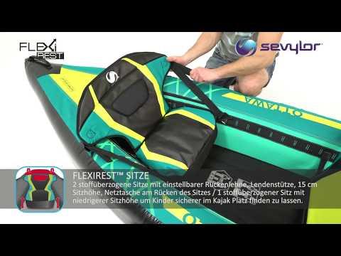 Kayak Ottawa 3 personas Sevylor
