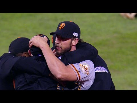 Giants Win World Series with 3-2 win vs Royals