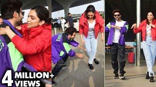 Deepika Padukone LEARNS Dance From Kartik Aaryan On Dheeme Dheeme Song