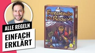 Fantastische Reiche • Regeln / Anleitung • Kennerspiel des Jahres 2021 Nominiert