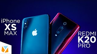 Xiaomi Redmi K20 Pro vs Apple iPhone XS Max Comparison Review
