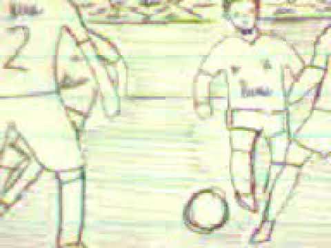 Amazing! Flip book football plays skills Goals, free kick & Tricks
