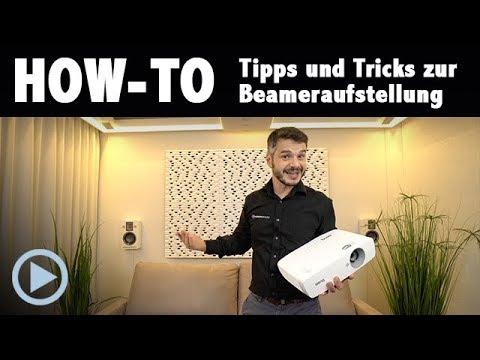 How-To: Tipps und Tricks zur Beameraufstellung