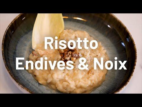 LA #GRANDE RECETTE CONTACT FM - RISOTTO ENDIVES ET NOIX