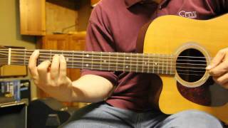 Obsession Rhythm Guitar Part Lesson